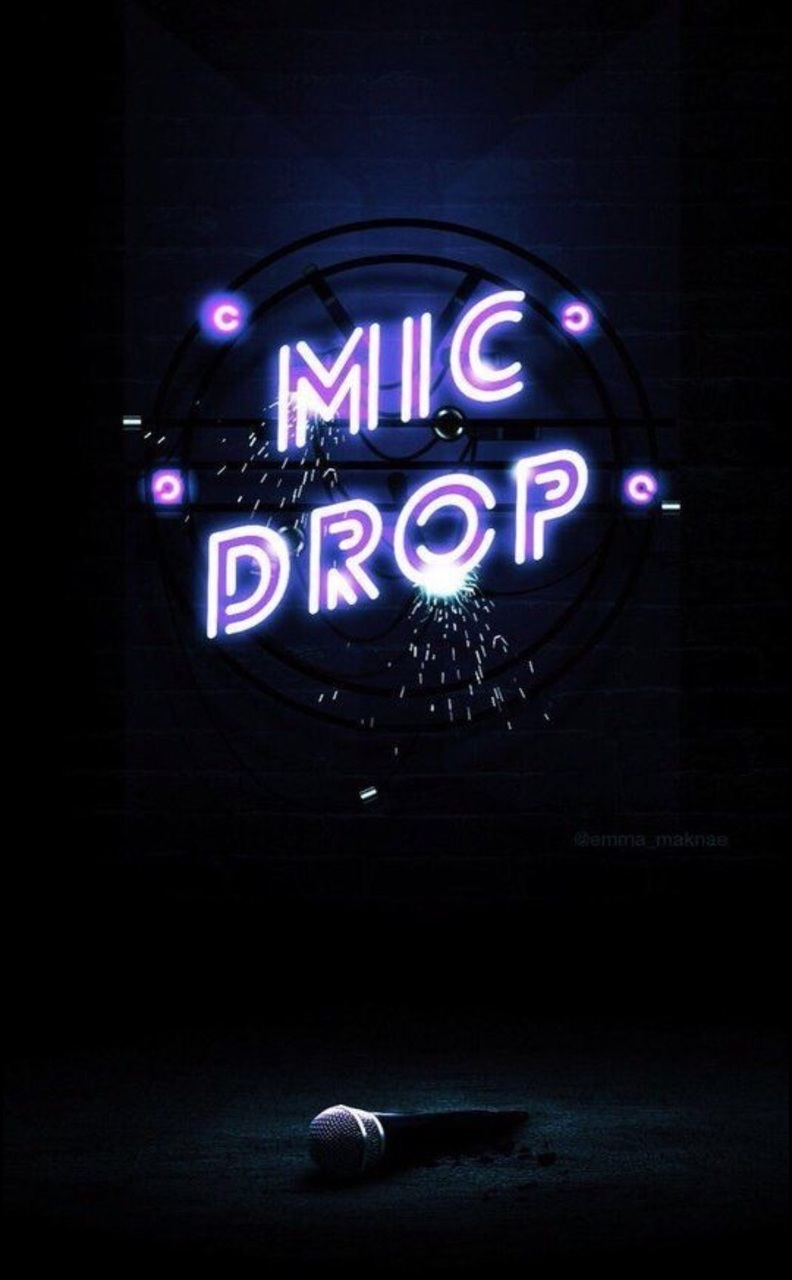Mic Drop Discovered By Meli On We Heart It