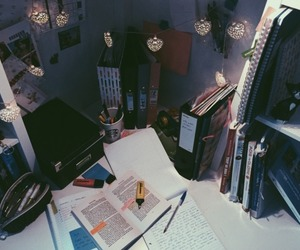 book and desk image
