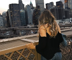 blonde, bridge, and Brooklyn image