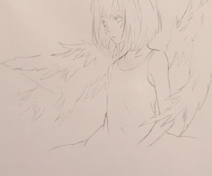 angels, anime, and art image