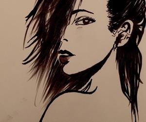 amazing, black & white, and draws image