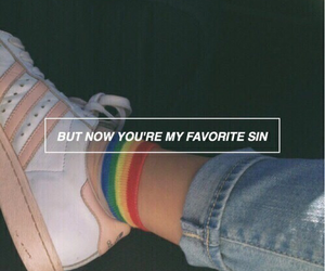 rainbow, aesthetic, and quotes image