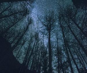 dark, night, and night sky image
