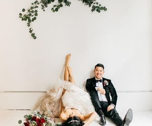 aesthetic, marriage, and wedding image