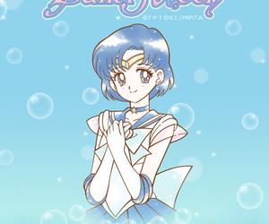 anime, comic, and sailor mercury image