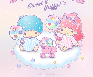 colors, cotton candy, and kawaii image