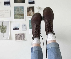 aesthetic, shoes, and alternative image