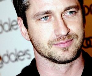 -beautiful, -gerard butler, and -man image