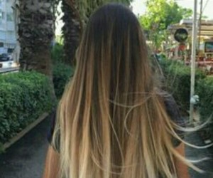 hair, long, and girl image