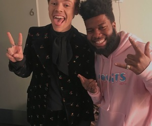 Harry Styles, khalid, and harry image