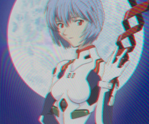 anime and rei ayanami image