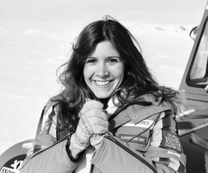 carrie fisher and star wars image