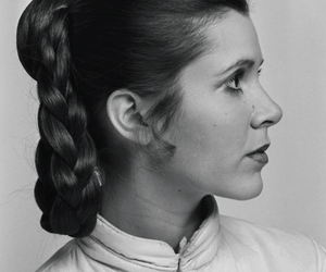 carrie fisher, Princess Leia, and star wars image