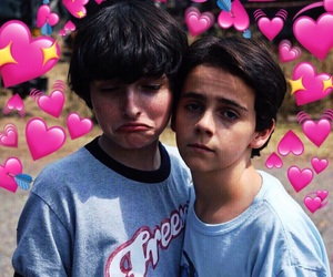 it, finn wolfhard, and jack grazer image