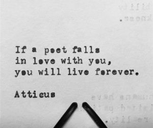atticus, forever, and poet image