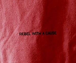rebel, red, and quotes image