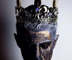 crown, fantasy, and king image
