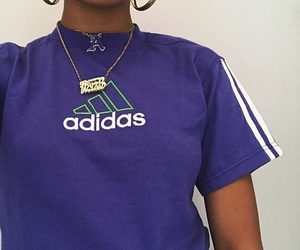 adidas and necklace image