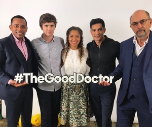 freddie highmore, the good doctor, and abc network image