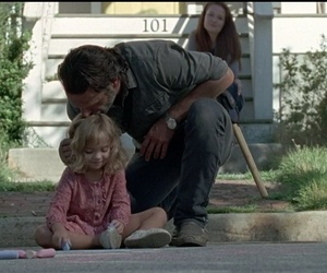 judith, rick, and twd image