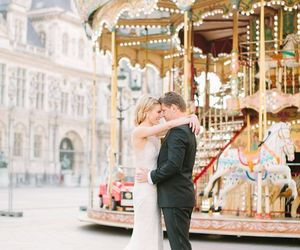 amor, couple, and parís image