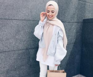 hijab, fashion, and adidas image
