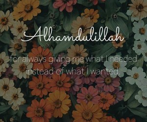 allah, flowers, and happiness image