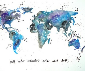 world, quotes, and map image