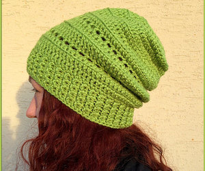 beanie, chunky hat, and womens winter hat image