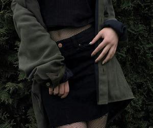 fashion, grunge, and black image