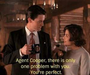 agent cooper, Audrey Horne, and Kyle MacLachlan image