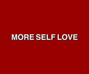 background, red, and more self love image