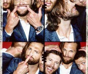 jared padalecki, supernatural, and Jensen Ackles image