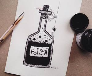 art, ink, and poison image