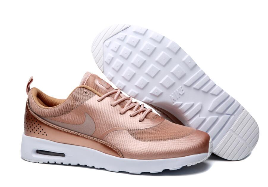 Nike Air Max Thea Womens Rose Gold White Hyperfuse