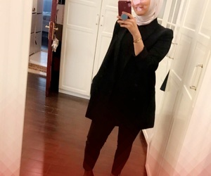 girls, islam, and style image
