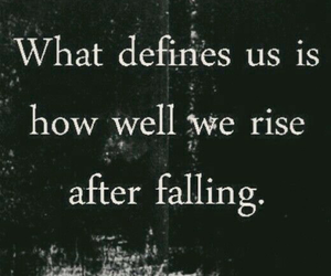 quotes, fall, and life image