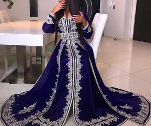 mariage, morocco, and caftan image