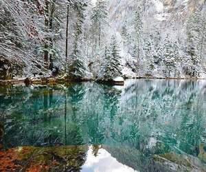 inspiration, lake, and snow image