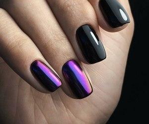 beautiful, black, and manicure image