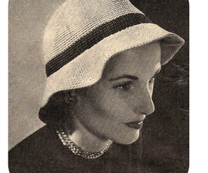 crochet, hat, and two tone image