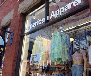 american apparel, carefree, and fashion image