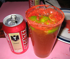 beer, mexican, and michelada image