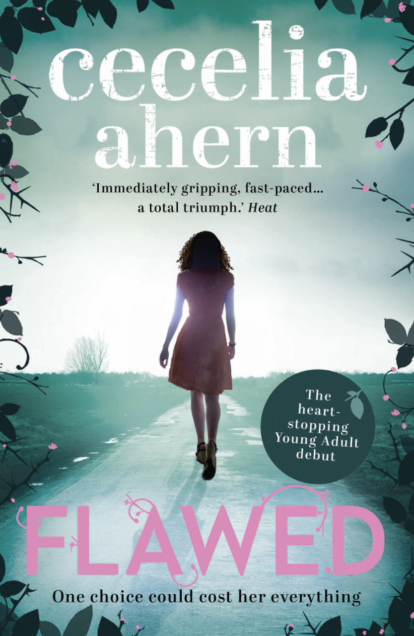 books, flawed, and cecilia ahern image