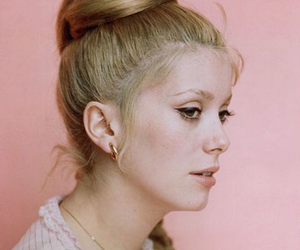 catherine deneuve and vintage image