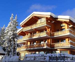 chalet, luxury, and st moritz image