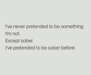 fun, quote, and sober image