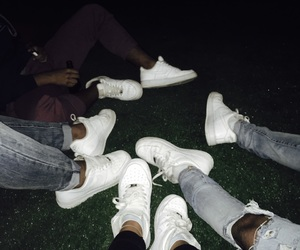 airforce, nike, and shoes image