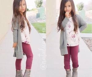 baby wear, kids style, and kids wear image