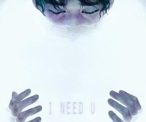 bts, kpop, and i need u image